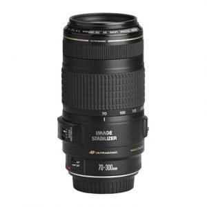 Canon EF 70 300mm f 4 5.6 IS USM Lens