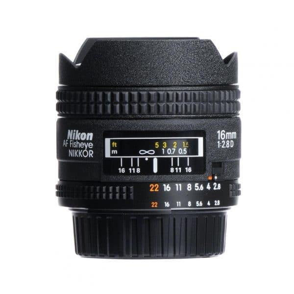 nikon af fisheye nikkor 16mm f 2 8d 2