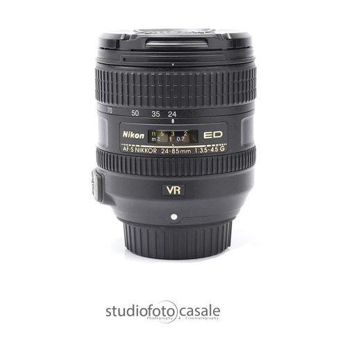 Nikon AF S 24 85mm f3.5 4.5 G ED VR932Top